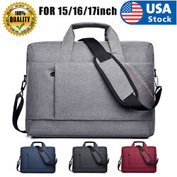 USA Laptop Bag Case With Shoulder Strap For15quot; 16quot; 17quot;inch HP Lenovo Asus Mac $22.98