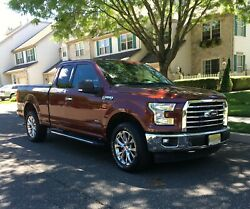 2017 Ford F-150 Xlt Ext Cab 4 Drs 4wd Pick-up Clean Title Great Condition