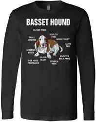 Coolest Funny Basset Hound Mom Dad Gift Christmas Original Cute Gifts T Shirt