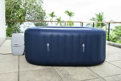 Bestway 110v 6 Person Inflatable Hot Tub Spa With Pump 60022e Safty Use For Home