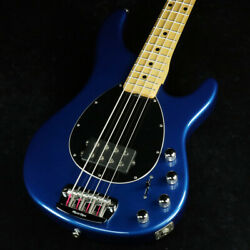 Used 2013 Music Man Sterling 4st Pearl Blue Active Bass 3-band Eq Long Scale