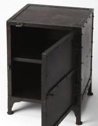 Restoration Hardware Replica Industrial Tool Chest Nightstand Accent Chair Chest