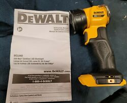 New Dewalt 20v Max Led Work Light Model Dcl040 Tool Only Free Shipping