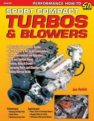 Sport Compact Turbos And Blowers Book4 And 6 Cylindersuperchargerimport Carsnew