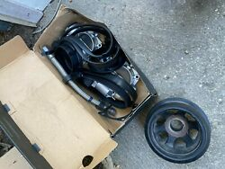 2013 C63 Amg Throttle Bodies Harmonic Balancer Pully And Fuel Injector Bundle