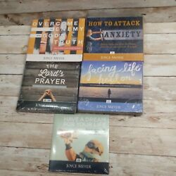 Lot Of 5 New Sealed Joyce Meyer Audio Cd Christian Bible Lessons