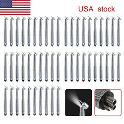100led E-generator Dental Surgical 45 Degree Handpiece High Speed 4hole