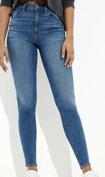 American Eagle Ae Womens Next Level High Waisted Jegging Jeans 6 Regular