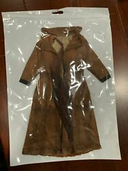 New Custom 1/6 Scale Weathered Trench Coat For Hot Toys Knightmare Batman