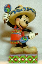 Jim Shore Disney Traditions Greetings From Mexico Mickey Mouse 4043635 Nib