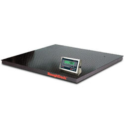 Rice Lake 168153, Roughdeck Floor Scale W/ 482+ Indicator, 10000 Lb X 2 Lb, Ntep