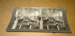 Keystone Stereoview Automobiles Of 1904 @ Louisiana Purchase Exposition St Louis