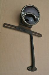Dodge Brothers Auto Truck 1920's Tail Brake License Tag Light Lamp Mount