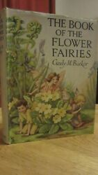 Book Of Flower Fairies By C M Barker C1930 Dust Jacket Beautiful Illustrations