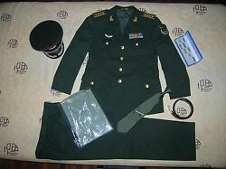 Obsolete 15's China Pla Army Garrison Macao Force Man Officer Uniform,set