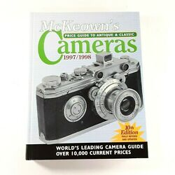 Vtg Mckeowns Price Guide To Antique And Classic Cameras 10th Edition 1997-1998