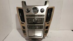 2008-2013 Cadillac Cts Climate Control Navi Radio Cd Player Vent Oem 25881349