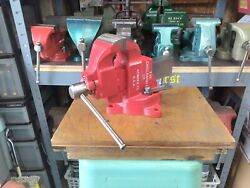 Restored Vintage Parker Early 973 Bench Vise Usa 3 In Jaw 28 Lbs Amazing