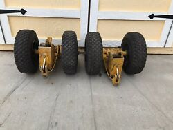 Bell 206 Helicopter Factory Dual Hydraulic Ground Handling Wheels