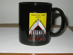 Titanic Coffee Mug From Paramount Parks Presents The Movie On Tour