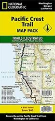 Pacific Crest Trail Maps Complete Pct Topo Map Pack Bundle National Geographic