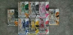 Complete Lot 8 Hasbro Mmpr Power Rangers Lightning Collection Figures In-hand