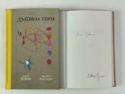David Byrne Signed Autograph American Utopia Book - Talking Heads 77 Rare