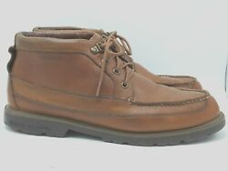 Sperry Top Sider Mens Brown Leather Water Proof Lace Chukka Ankle Boots Sz 10m
