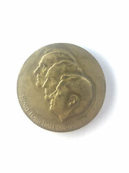 1953 50 Years American Road Ford Motor Company Ford Family Token Coin Medal 32mm