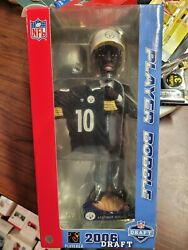 Santonio Holmes Pittsburgh Steelers/ohio State Draft Day Bobblehead New And039d/1008