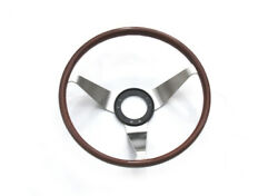 Wood Steering Wheel For Opel Gt And Others Vauxhall Vintage Car