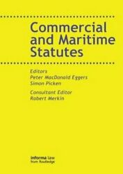 Commercial And Maritime Statutes By Peter Macdonald Eggers 9781859785041