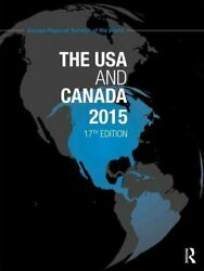 The Usa And Canada 2015 By Europa Publications 9781857437416   Brand New