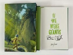 Dave Matthews Signed Autograph If We Were Giants Le Book - Hand 'd 872/1000