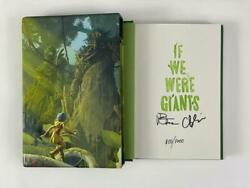 Dave Matthews Signed Autograph If We Were Giants Le Book - Hand 'd 815/1000