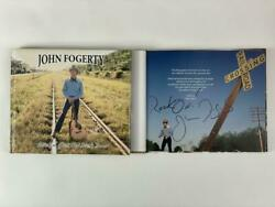 John Fogerty Signed Lookin Out My Back Door Book - Creedence Clearwater Revival