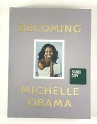 First Lady Michelle Obama Signed Autograph Le Sealed Becoming Book - Barack