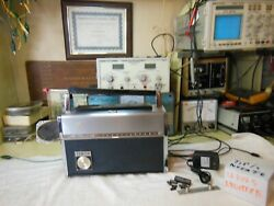 Zenith Trans-oceanic1963,r-3000,from Nuvista 48 ,wnew Rechargeable Batt,andled's