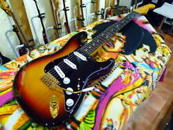 Used 2004-2006 Fender Japan St62g-80tx 3ts Mij Stratocaster Texas Special Pu