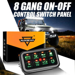 8 Gang On-off Switch Panel Box Press Button Electronic Relay Control System Us