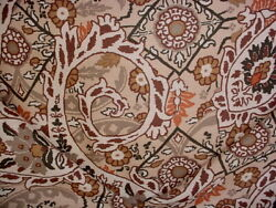 15y Brunschwig Fils 8012102 Chan Paisley Bohemian Floral Print Upholstery Fabric