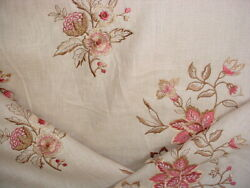 18y Brunschwig And Fils Bf10441 Marwood Barley Embroidery Upholstery Fabric