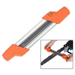 2in1 5/32 File Chainsaw Chain Sharpener 4.0mm Quick Chain Saw Teeth Sharpening
