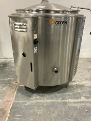 Groen 60 Gallon Ee-60 Electric Soup Sauce Steam Kettle Works Great