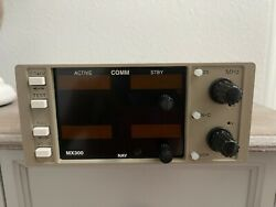 Tkm Mx 300 Nav/comm 14 Vdc P/n Mx300 With Faa Form 8130-3 From Bevan