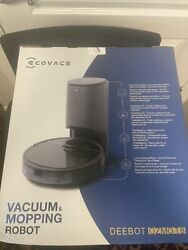 New Ecovacs Deebot Ozmo T8+ Vacuum And Mop Robot With Advanced Laser Mapping 🔥