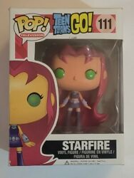 Vaulted Funko Pop Starfire 111 Teen Titans Go See Pictures 2014 Collectible