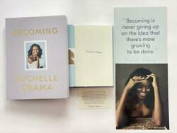 Michelle Obama Signed Autograph Limited Edition Becoming Book - Barack Rare