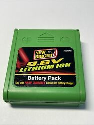 New Bright 9.6v Lithium Ion Rechargeable Battery Pack
