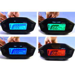 Multifunctional Motorcycle Tachometer With Colored Backlight 150 Mm